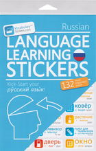Russian Vocabulary Language Stickers