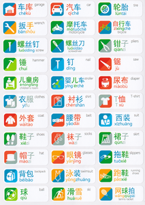 Chinese Language Learning Labels