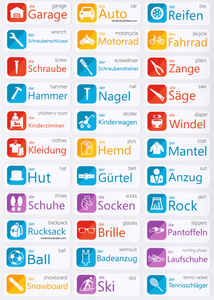 German Language Stickers