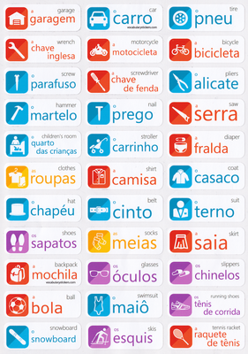 Portuguese Language Labels