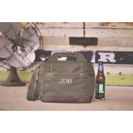 Personalized Military Style Mechanic Canvas Tool Bag Kit Ammo Bag, Groomsmen Father's Day or Anniversary Gift