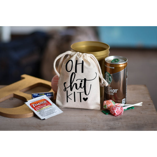 Bachelorette Party Oh Shit Survival Hangover Kit Favor - My Southern Charm