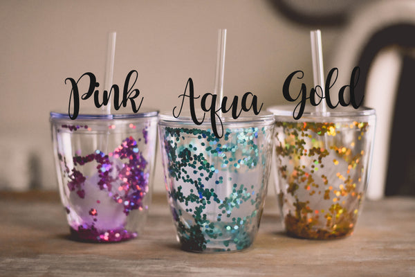 Personalized Glitter Bachelorette Party Cups - My Southern Charm