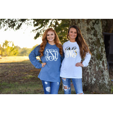 Monogrammed Christmas Pajamas for Adult and Youth