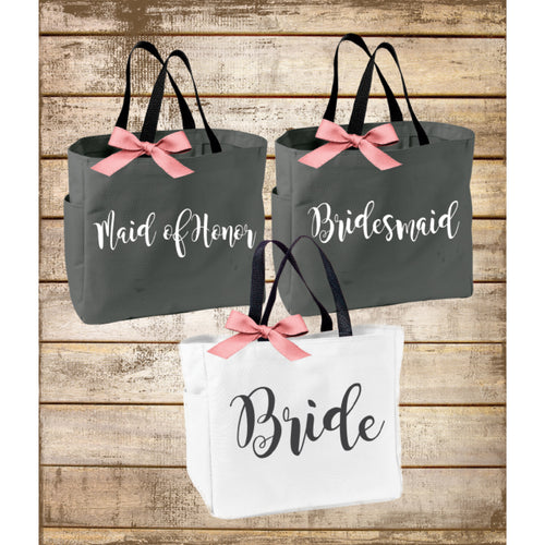 Personalized Bride Bridesmaid  Maid of Honor Tote Bag - My Southern Charm