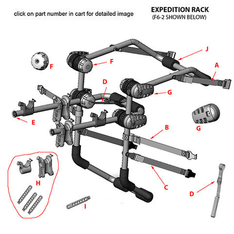 f6 expedition replacement parts