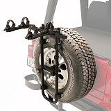 Spare Tire Clearance for Hitch Racks