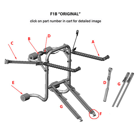 F1B original replacement parts