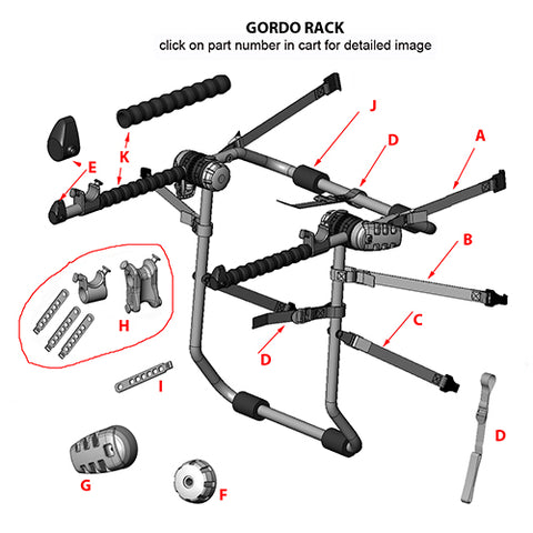 gordo replacement parts