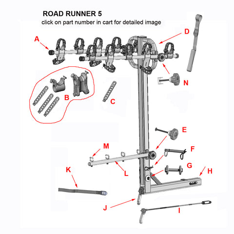 road runner 5 replacement parts