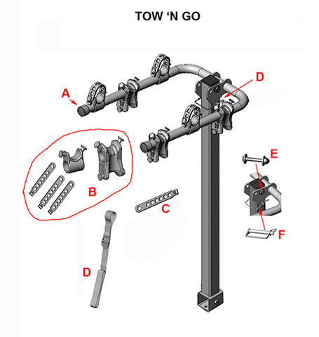 tow n go replacement parts