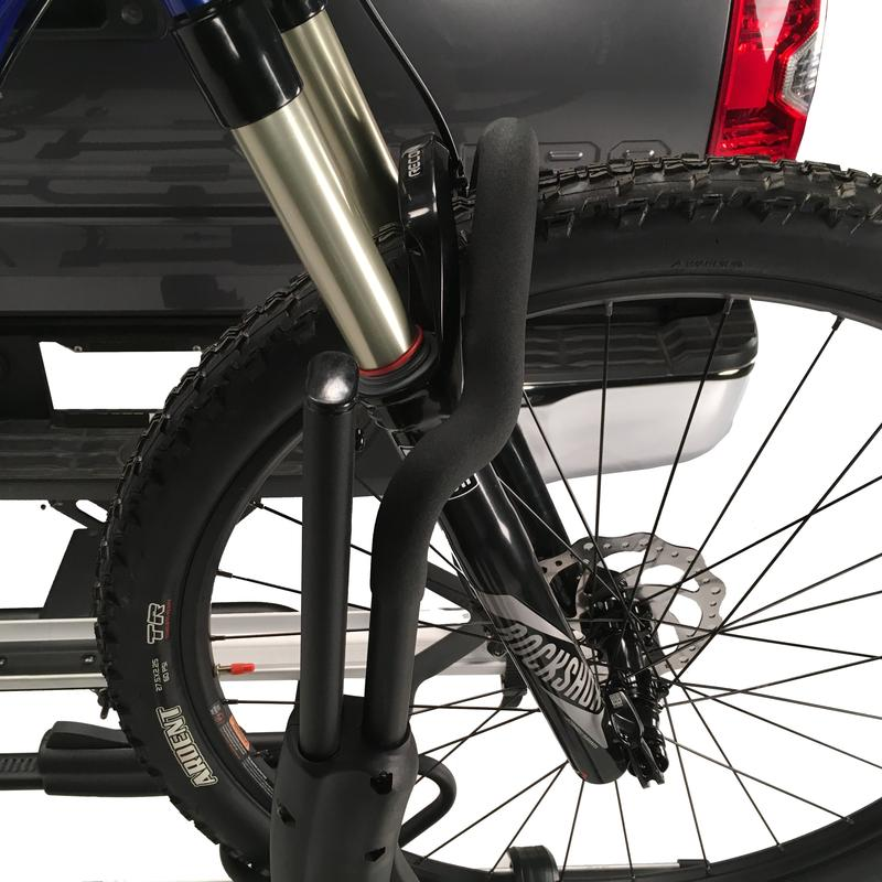 Secure hitch bike rack by Hollywood Racks