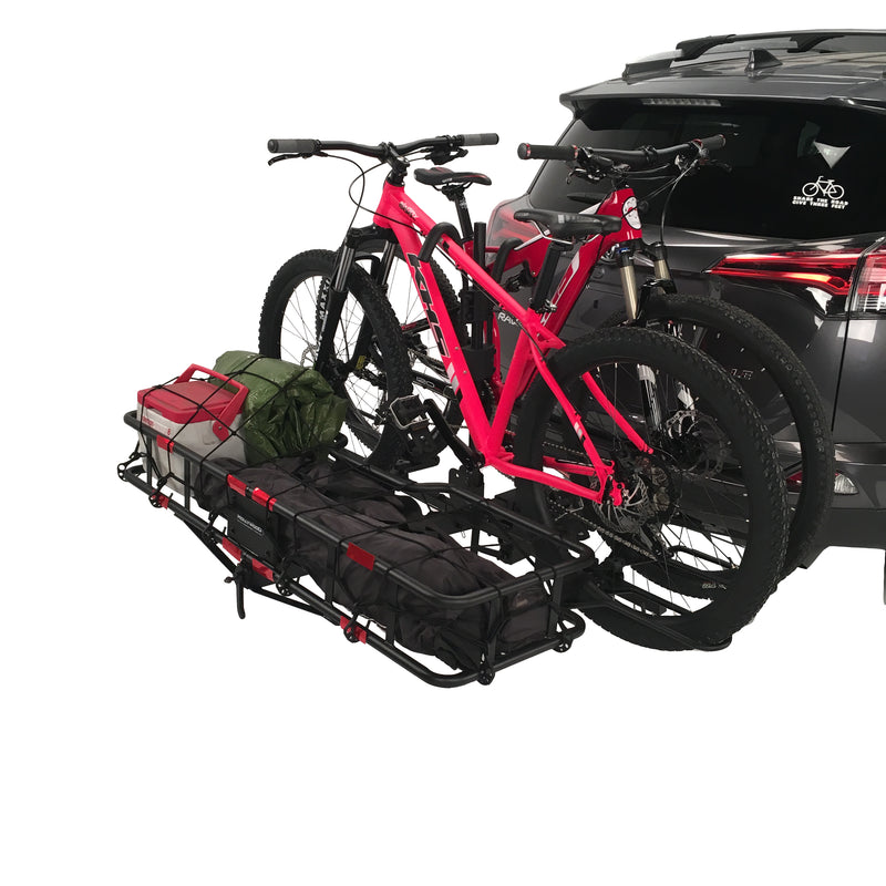 large yakima truck crashpad bed bike for rack racks