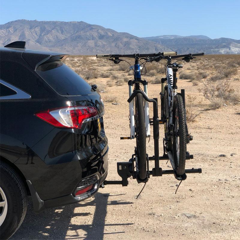 Affordable hitch bike rack by Hollywood Rack