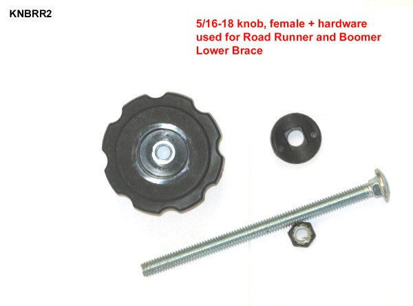 KNOB & HARDWARE FOR LOWER BRACE