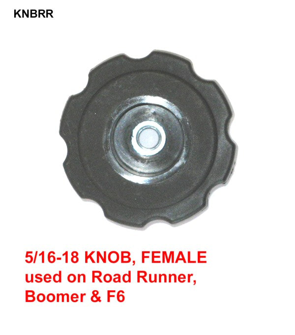 KNOB ONLY, 5/16-18 FEMALE