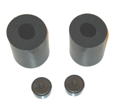 "RUBBER PADS 1"" (PAIR)"