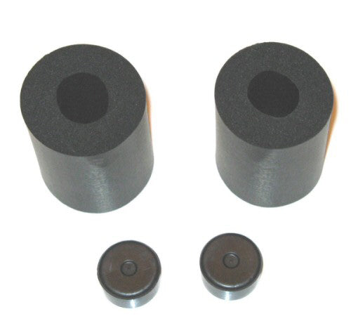 "RUBBER PADS 1-1/4"" (PAIR)"
