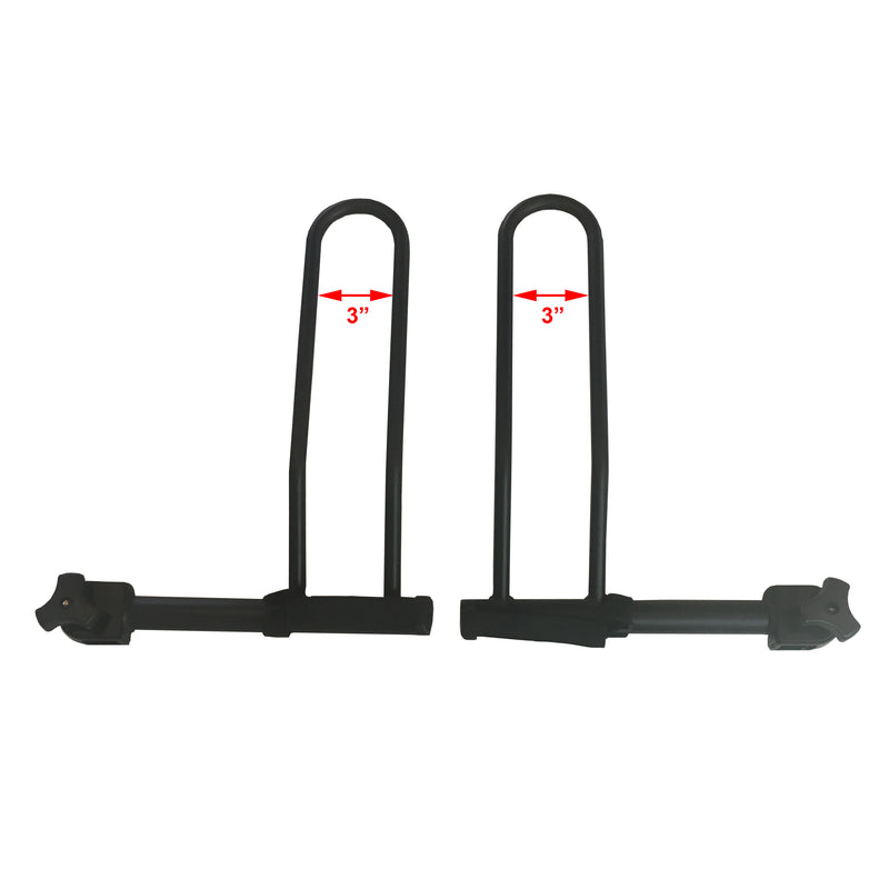 Recumbent Wheel Holder Set