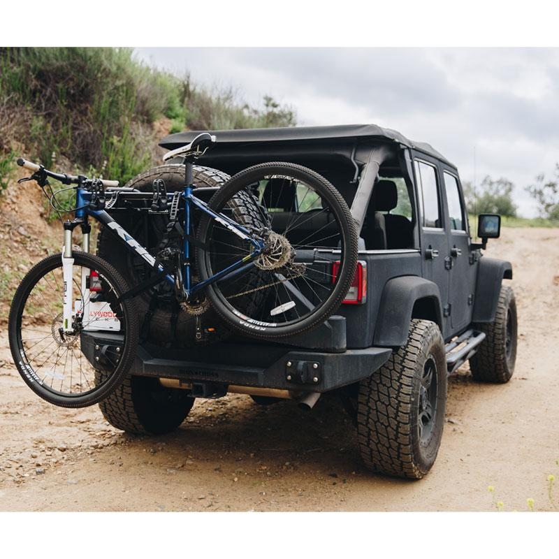 SR1 Strap-On Spare Tire Bike Rack by Hollywood Racks