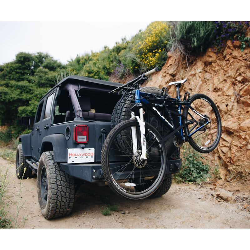 SR1 Strap-On Spare Tire Bike Rack Hollywood Racks