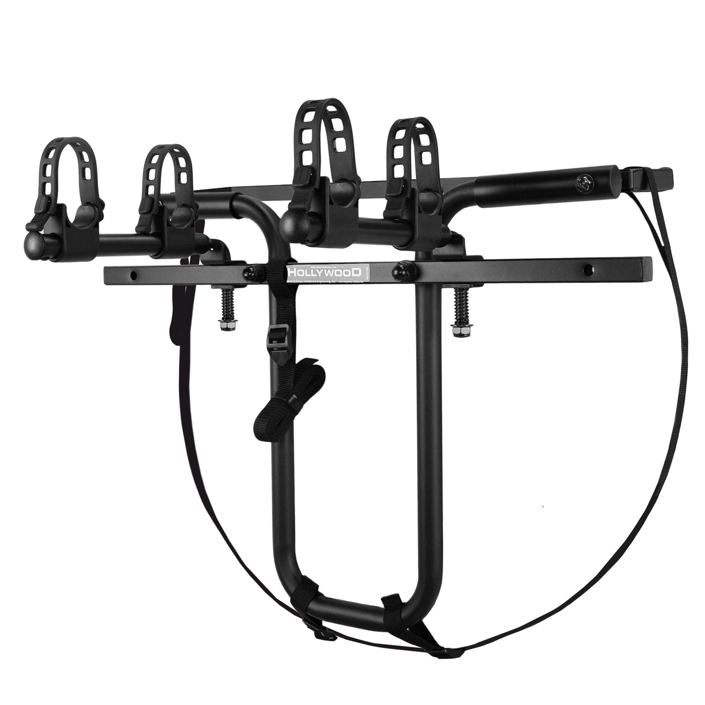Black Hollywood Racks F7 Spare Tyre Mount 2 Bike Car Rack