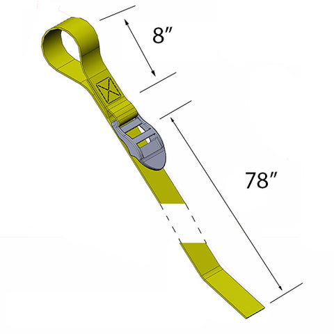 TIE DOWN STRAP WITH LOOP