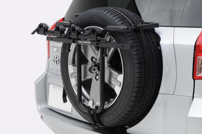 Jeep Strap-On Spare Tire Bike Rack by Hollywood Racks