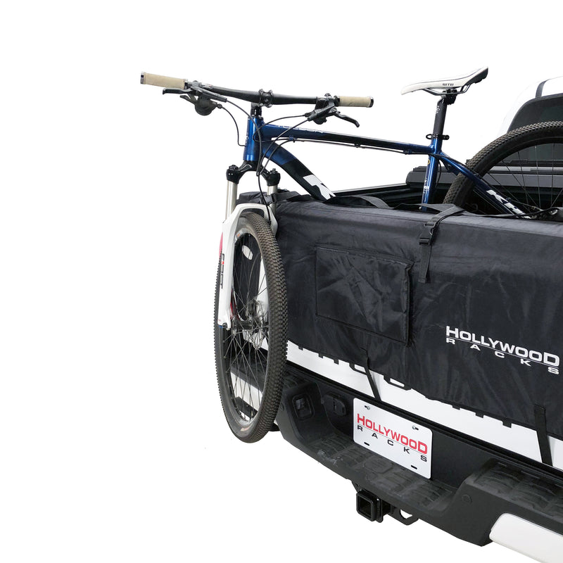 tailgate pad with straps for 4 bikes