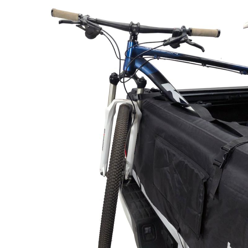 bike tailgate pad with straps