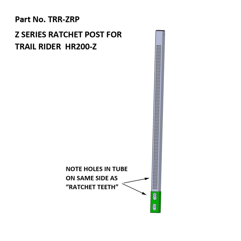 Trail Rider Ratcheting Post