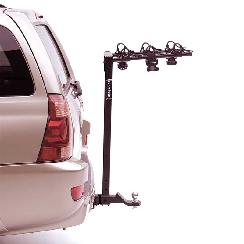 Hitch Mount Bike Rack Good for Towing Trailers