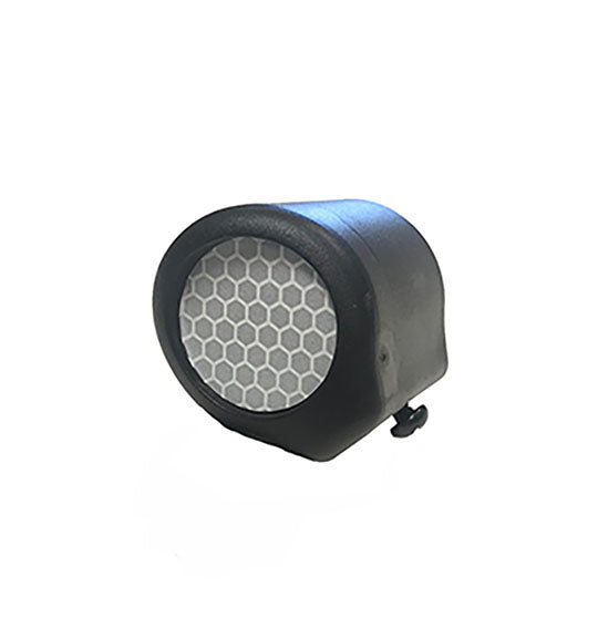 "1-1/4"" Reflectorized End Cap with Screw"