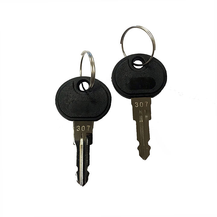 Sport Rider, Trail Rider and Destination rack Keys