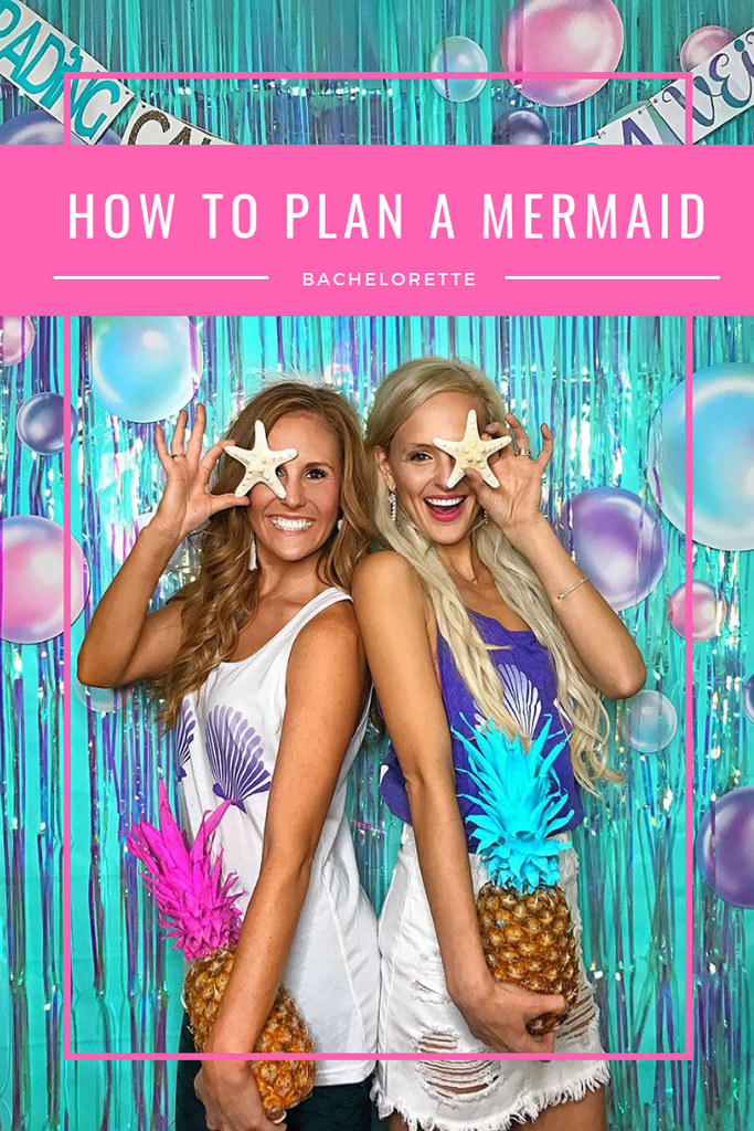 how to plan a mermaid bachelorette party