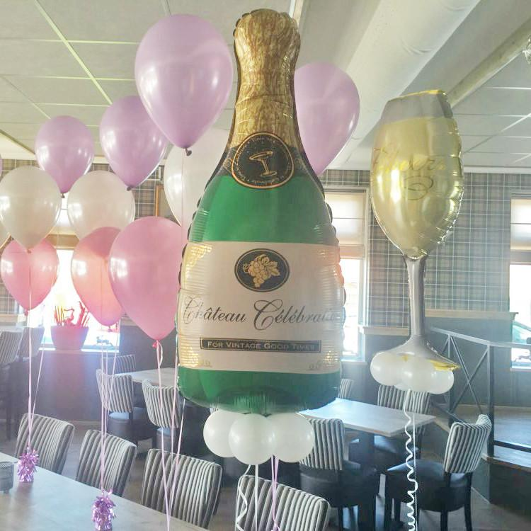 Pop the Champagne! | 3 Piece Balloon Set