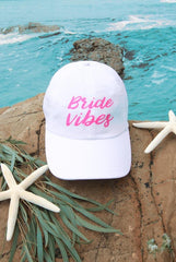 Bride Vibes | Beach Vibes - ☀️ Sun-sational Bachelorette Dad Hats