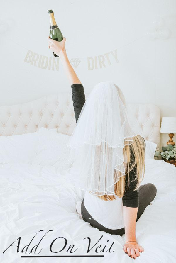 Bride To Be Foil Sash | Maroon Foil
