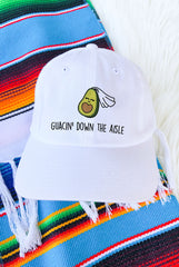 Guacin' Down the Aisle - Fiesta Avocado Hats!