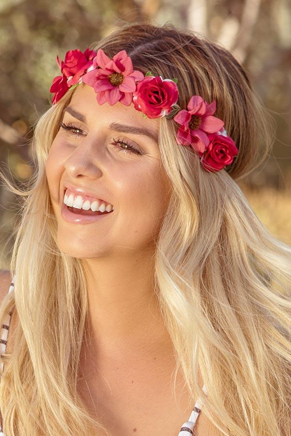 Pretty Flower Headbands | Lots of colors!