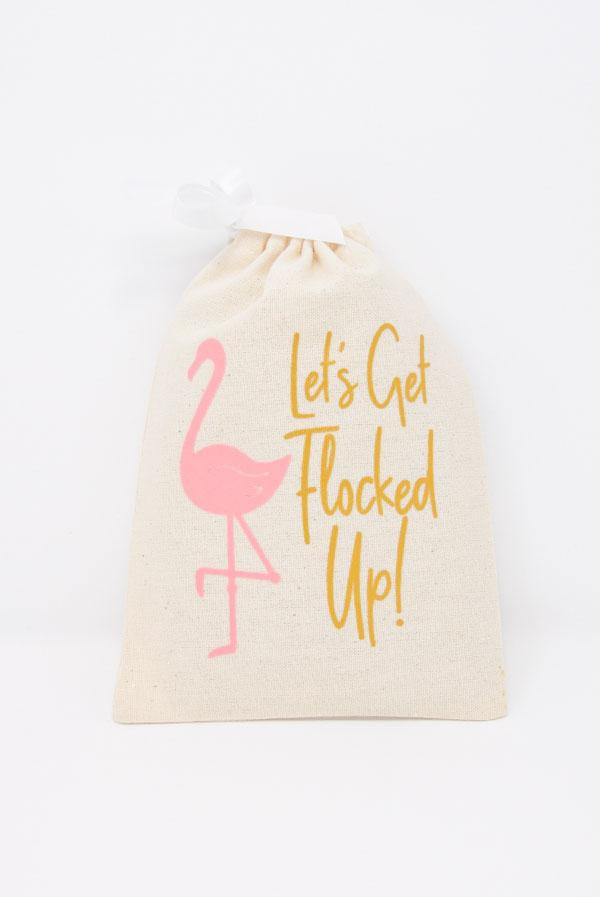 Let's Get Flocked Up! Flamingo Hangover Relief Bags