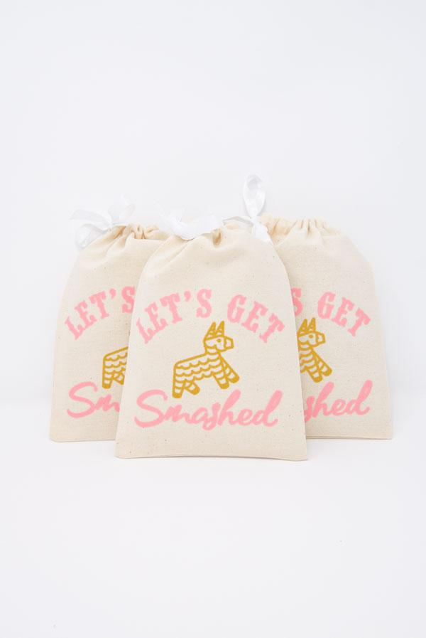 Let's Get Smashed! Fiesta Hangover Relief Bags