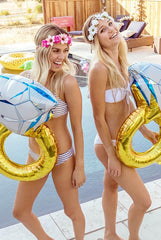 Oversized Diamond Ring Party Balloon