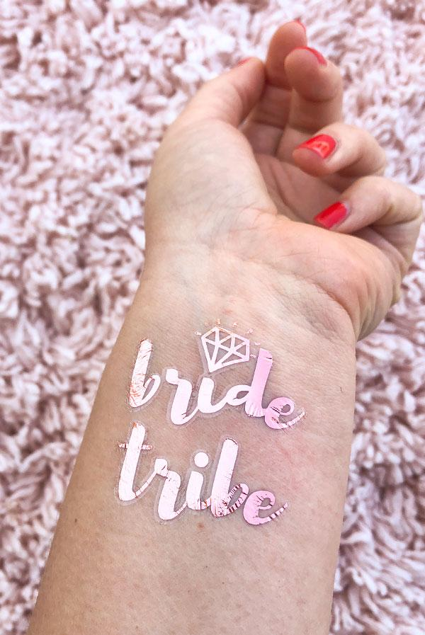 Rose Gold Bachelorette Flash Tattoos!