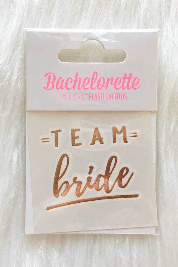 Gold Bachelorette Flash Tattoos!