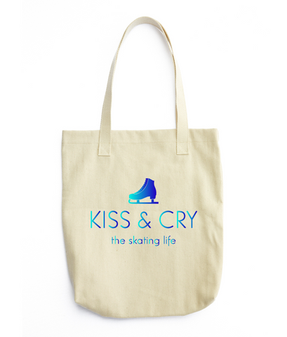 Kiss & Cry Logo Tote Bag