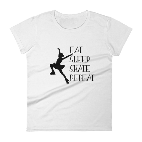 Eat Sleep Skate Repeat - T-Shirt