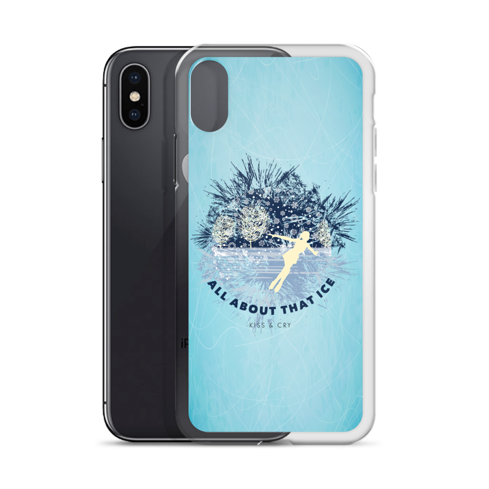 All About That Ice - iPhone X Case