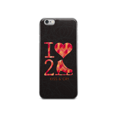 I Heart To Skate - iPhone Case