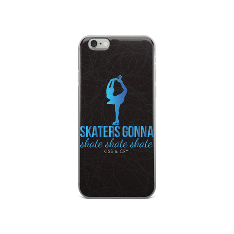 Skaters Gonna Skate - iPhone Case